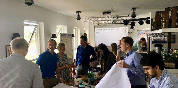 Tagungsraum Hamburg, Konferenzraum, Workshop, Seminare, Elbufer, Beamer, Metaplanwand, Flipchart,